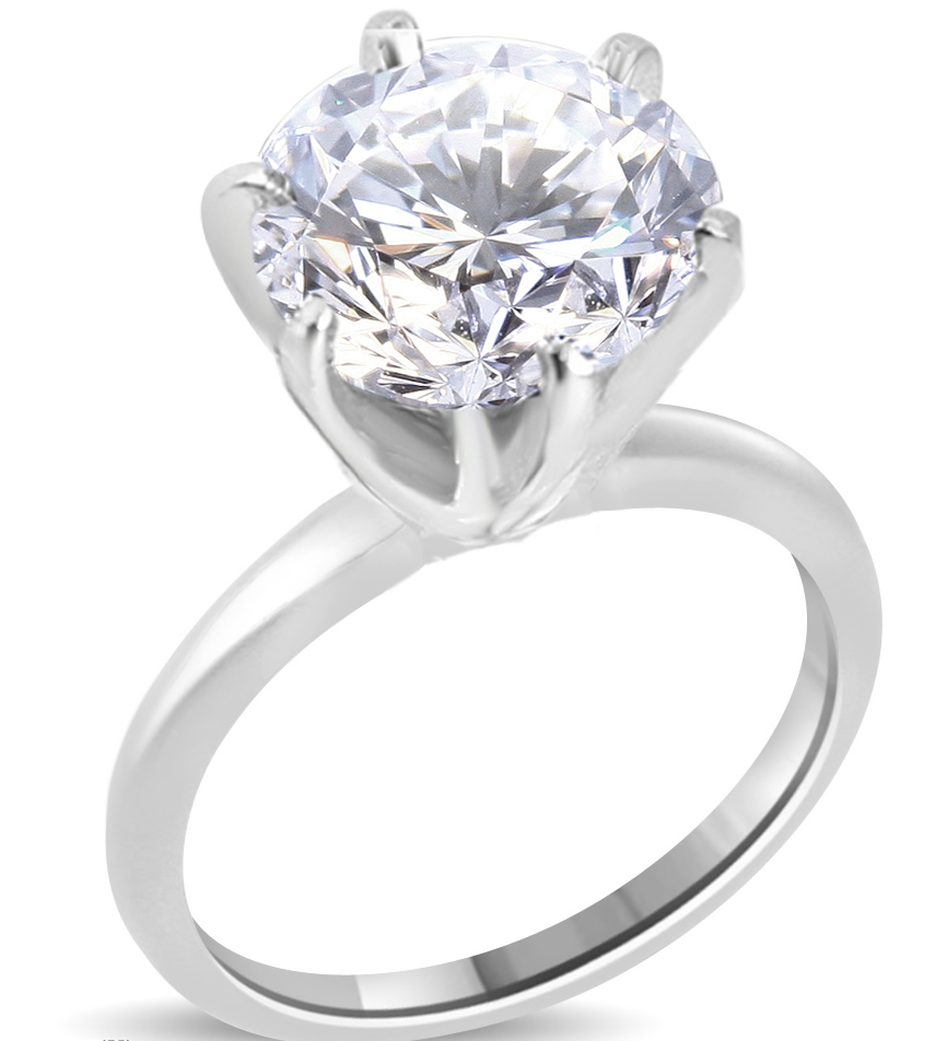 ct round cut diamond engagement ring enhanced si1 e. Black Bedroom Furniture Sets. Home Design Ideas