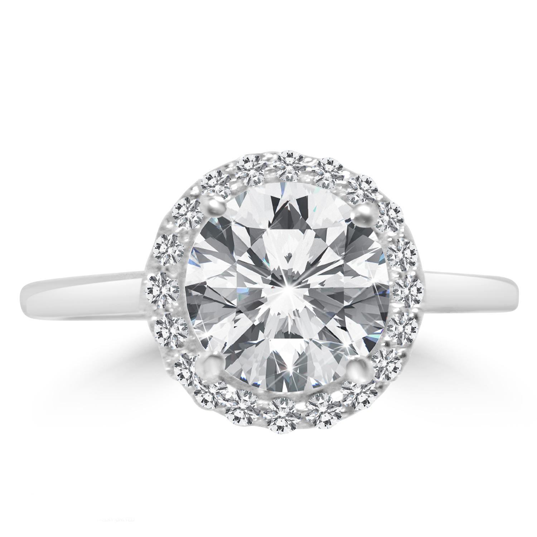 2 31 ct cut vs2 e engagement ring 14k white