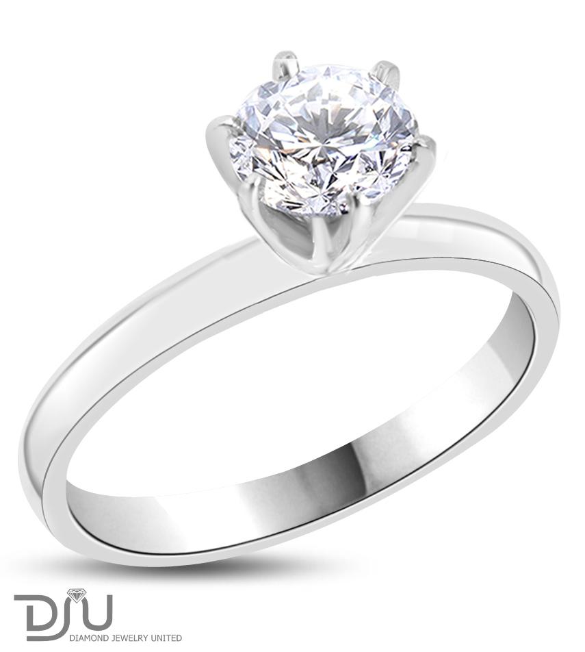 Кольцо с самоцветами и 1 бриллиантом в золоченом серебре 925 пробы. Золотое кольцо с Бриллиантом в 1.08 карат